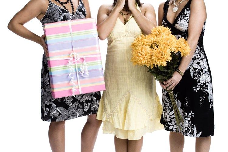 Las novias y las madres expectantes pueden preferir el efectivo.