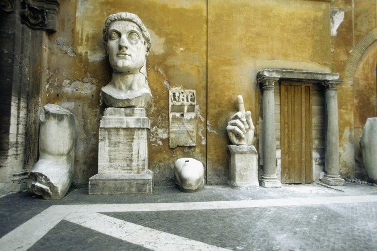 No intactas, pero bastante famosas son estas piezas de la Antigua Roma.