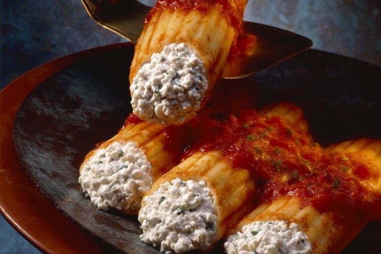 La ricotta es un derivado de la leche que se usa en muchos platos de la cocina italiana.