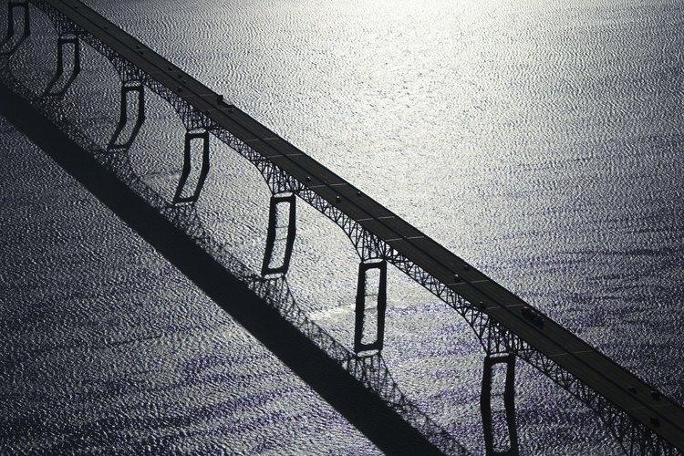 Puente sobre el río Susquehanna que desemboca en la bahía de Chesapeake.
