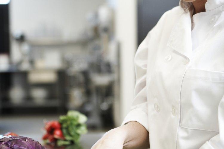 Los chefs de cinco estrellas convierten los alimentos en arte.