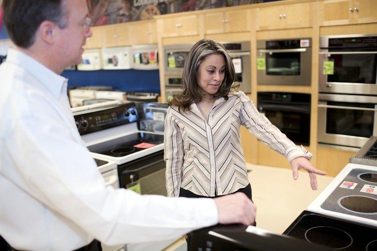 Cómo funciona el flujo de gas a través de un regulador de gas de una estufa de una cocina.