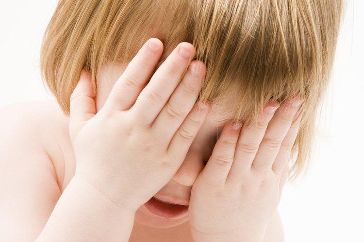 Un niño ansioso no es difícil de detectar.