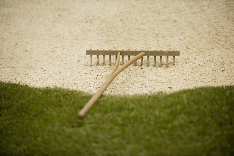 La arena es un componente importante de la textura del suelo.
