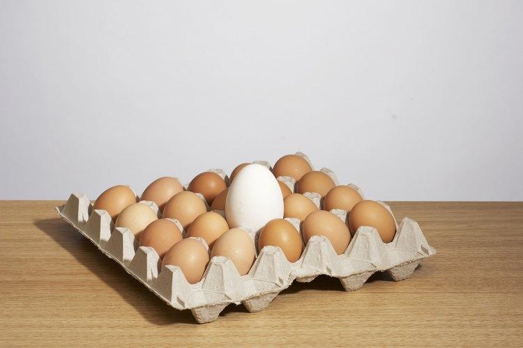 El polvo de merengue se elabora con claras de huevo deshidratadas.