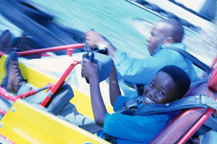 Burlington tiene un montón de actividades para los niños, desde karts hasta los parques.