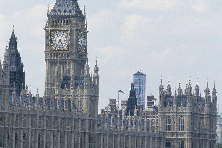 El Palacio de Westminster es el lugar de nacimiento del sistema parlamentario.