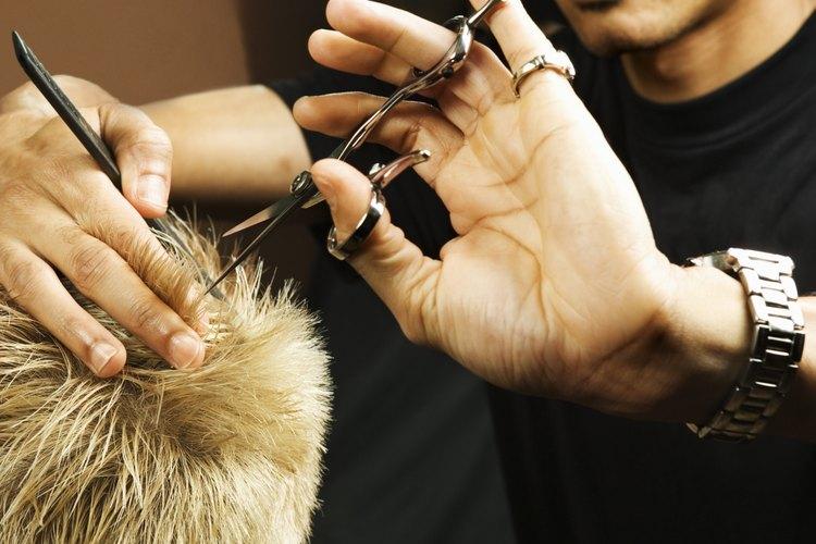 Corta el cabello desde la nuca