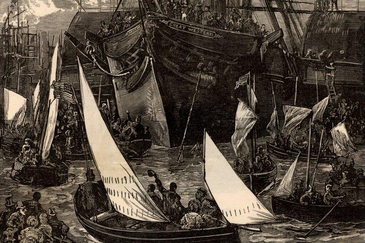 Fulton fue capaz de construir un barco de vapor que obtuvo ganancias.