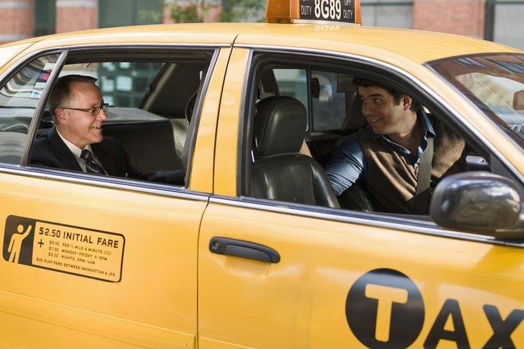 El tipo de licencia varía de acuerdo al número de personas que transporte el taxi.