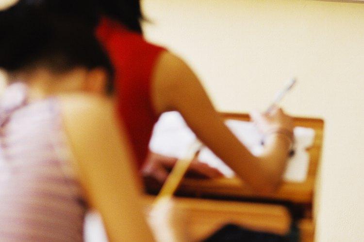 Los exámenes siempre nos ponen tensos.