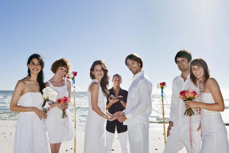 Hay varios escenarios que hacen de una boda el evento inolvidable para las parejas de novios.