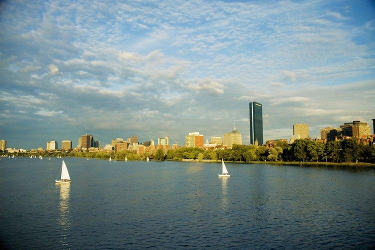Charles River, Boston.