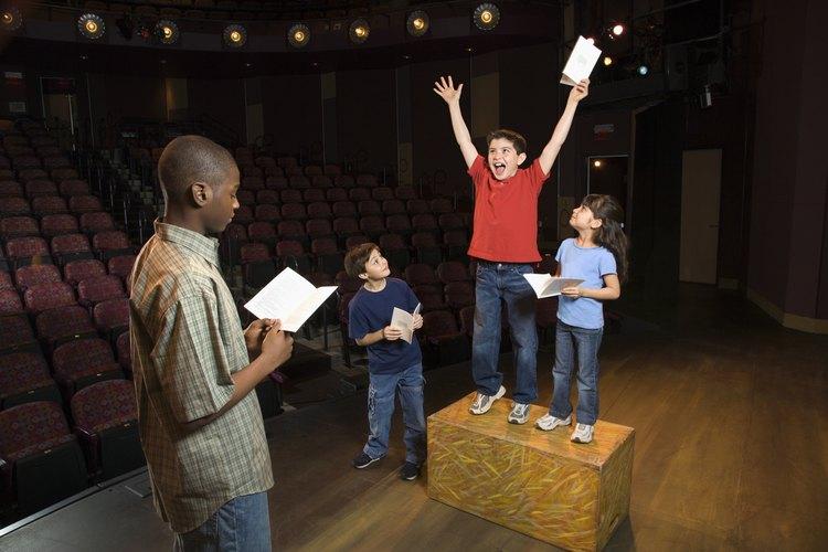 Londres tiene muchas oportunidades para que los adolescentes jóvenes desarrollen sus habilidades de actuación.