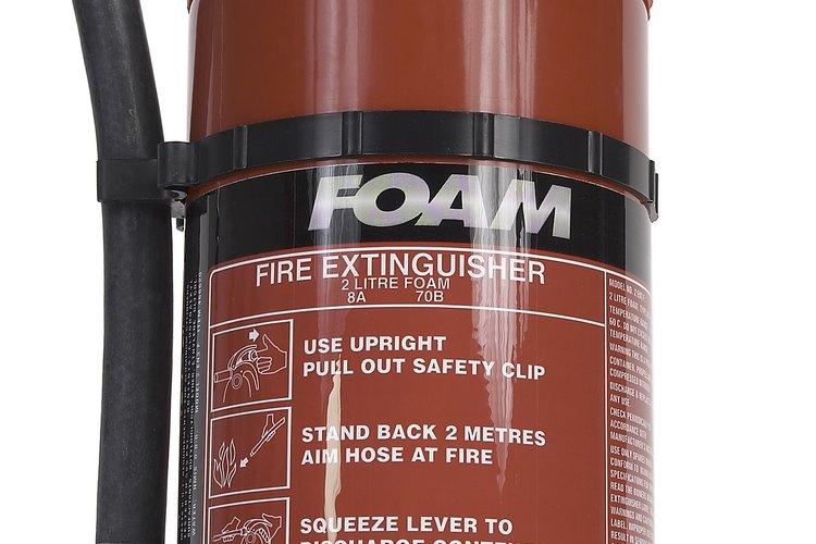 Inspecciona tu extintor de incendios anualmente.