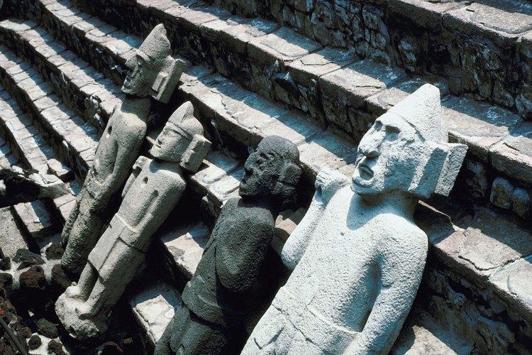 Las ruinas nos permiten conocer civilizaciones antiguas.