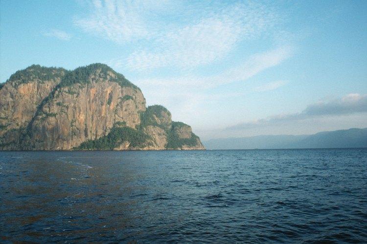 La isla Thacher es un lugar interesante para acampar.