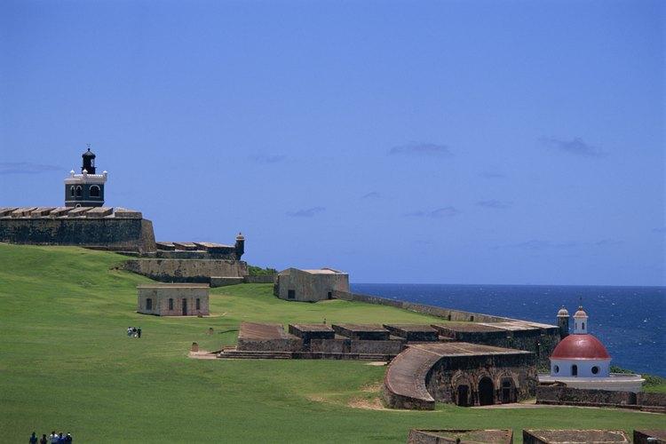 Las Croabas está en la esquina noreste de Puerto Rico.