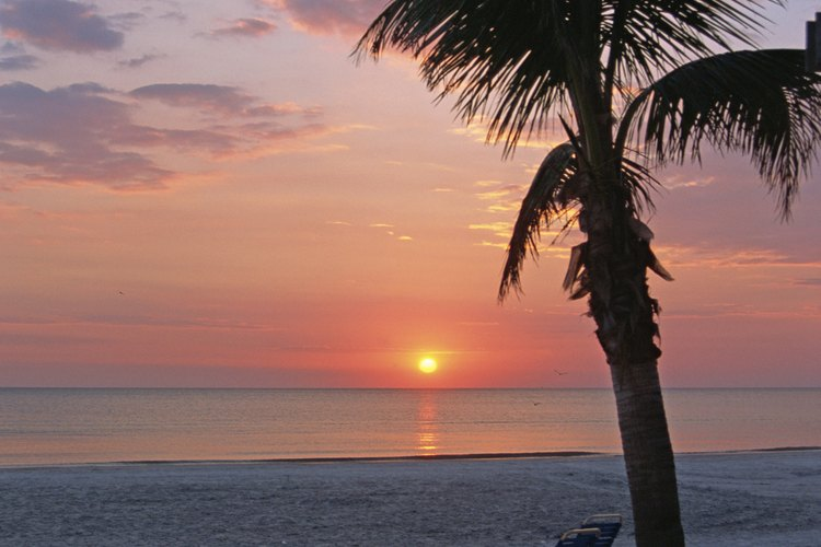 Disfruta de casi tres millas de playas y puestas de sol impresionantes en Indian Rocks Beach.