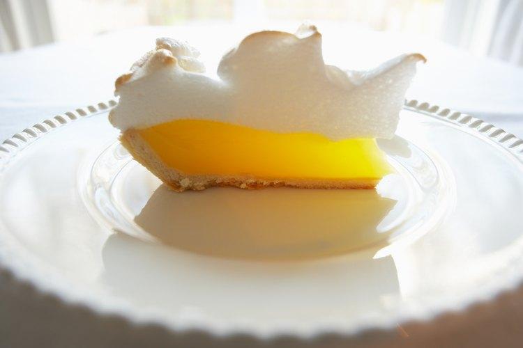 El lemon pie tiene una vida de conservación muy corta.