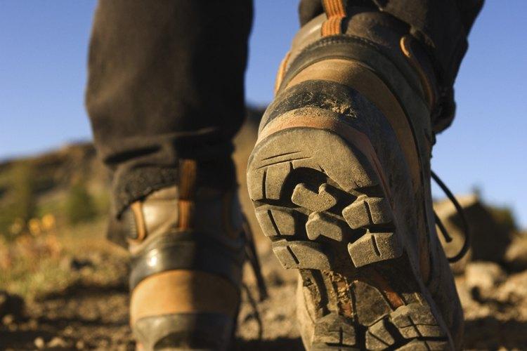 Algunas botas tienen suelas pesadas y antideslizantes.