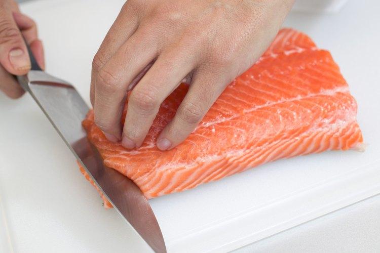 Fileteando el salmón