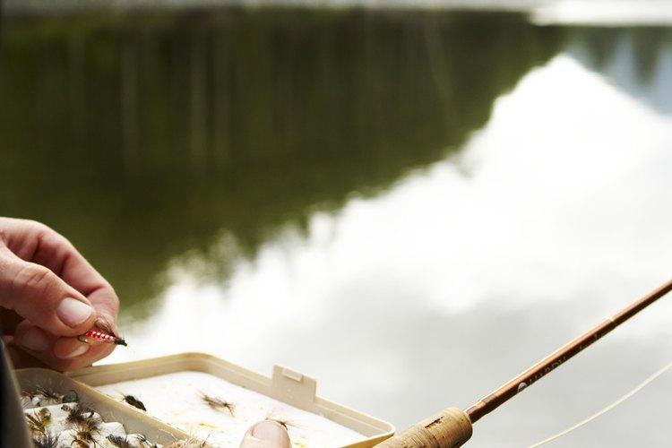 Los lagos cerca de Troy, Ohio son perfectos para pescar.