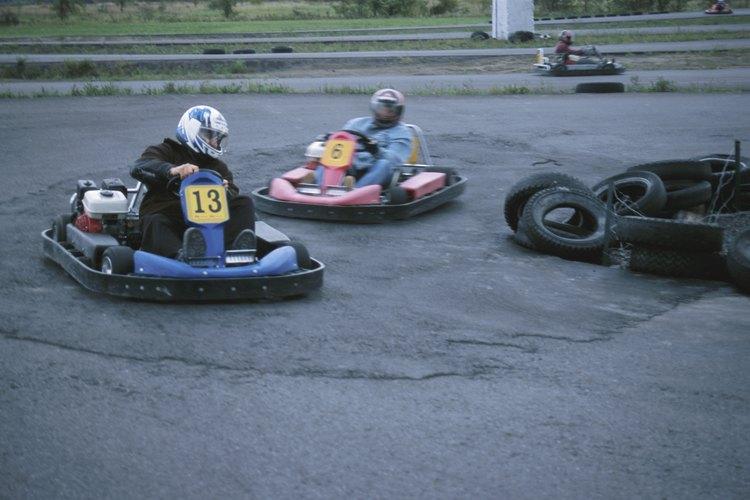 También pueden divertirse en las pistas de go-karts.
