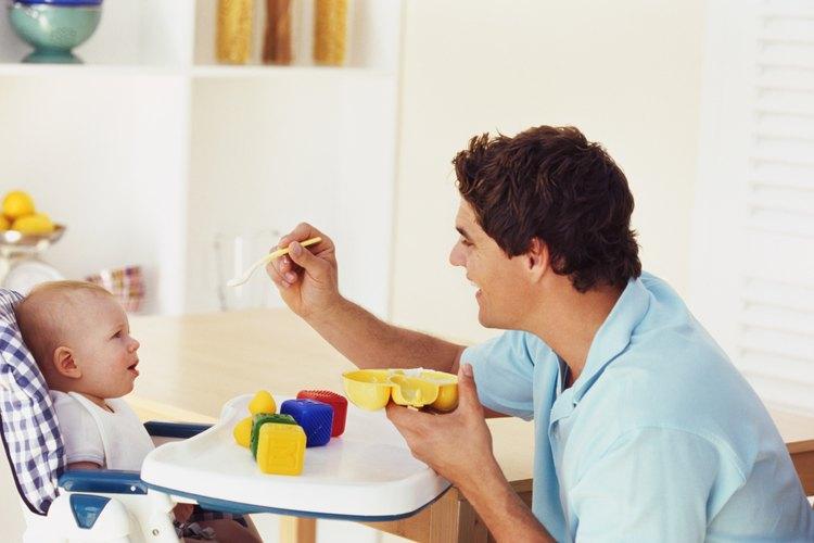 Los horarios de comidas ayudan a que tu bebé duerma profundamente.