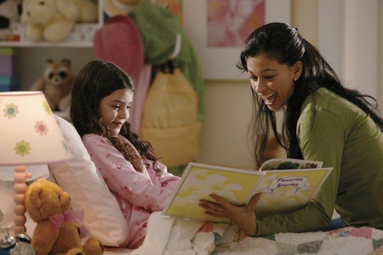 Expande la imaginación de los niños durante el tiempo de lectura.