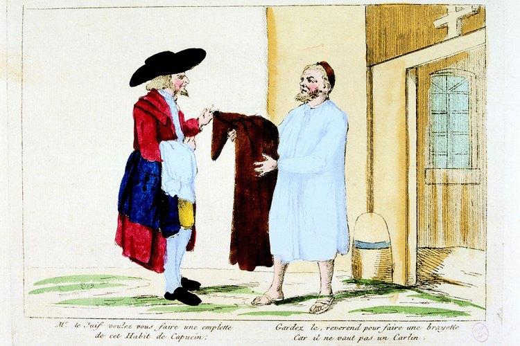 Durante la Revolución Francesa, la mayoría de las personas no podían adquirir más que vestimentas sencillas.