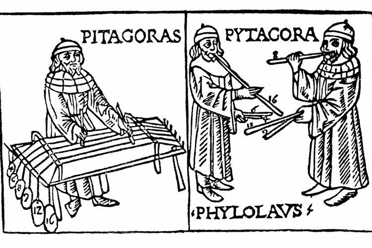 El filósofo griego Pitágoras probablemente vivió durante el siglo 6 A.C.