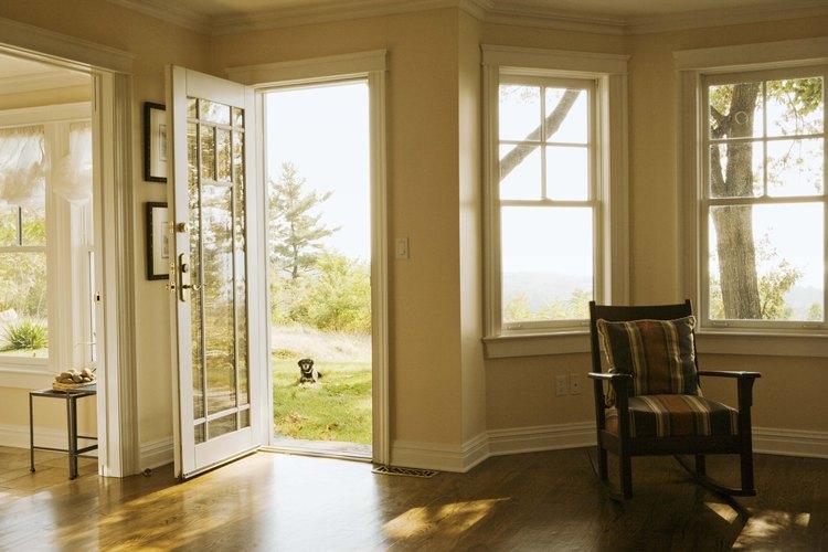 El umbral correcto puede producir una hermosa transición para tu piso.