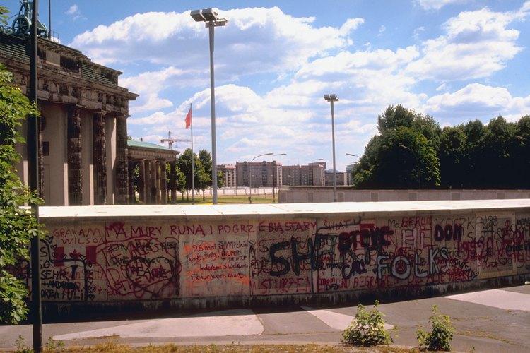 Al final de la II Guerra Mundial, Berlín era mitad comunista, mitad democrática.
