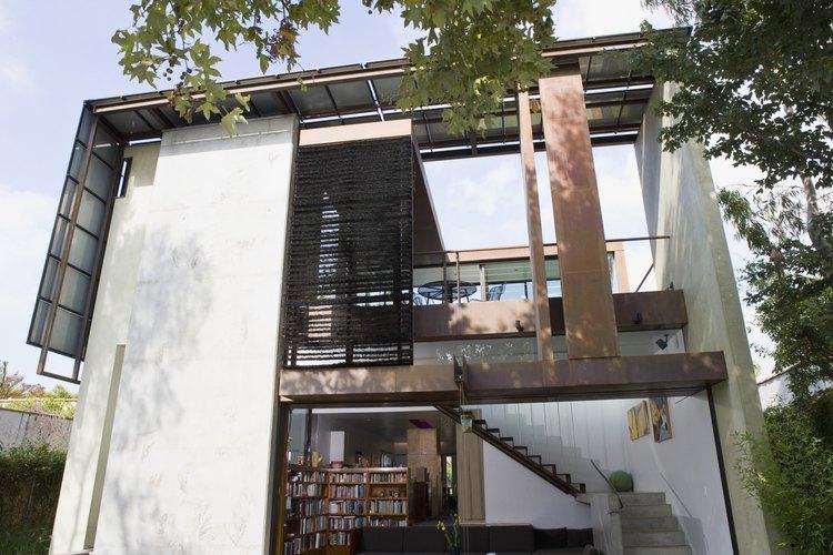 La estructura residencial más conocida es la casa.