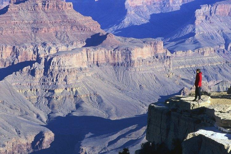 Grand Canyon National Park se ubica 80 millas al noroeste de Flagstaff.