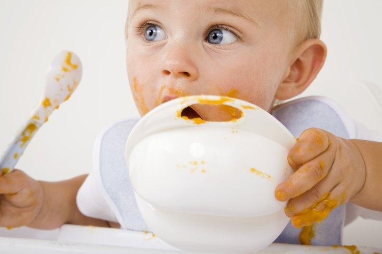 Dale a tu bebé alimentos frescos, sin procesar.