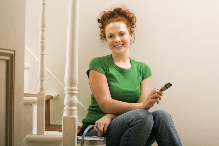 Puedes darle a tu habitación un aspecto clásico pintándola con un acabado de imitación de ladrillo.
