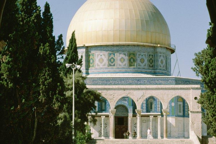 Cada parte de una mezquita tiene importancia.