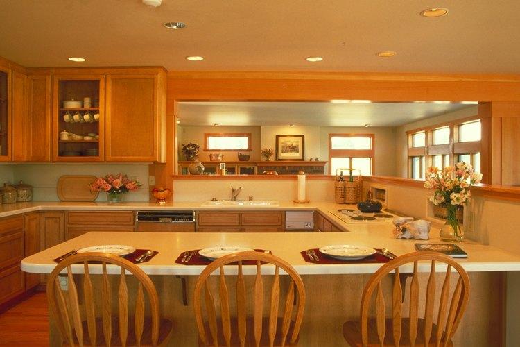 C mo separar una cocina y un comedor con una barra for Barras de cocina comedor
