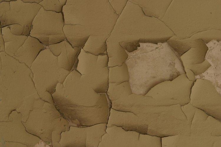 Una alta humedad en las paredes puede hacer que la pintura se desprenda.