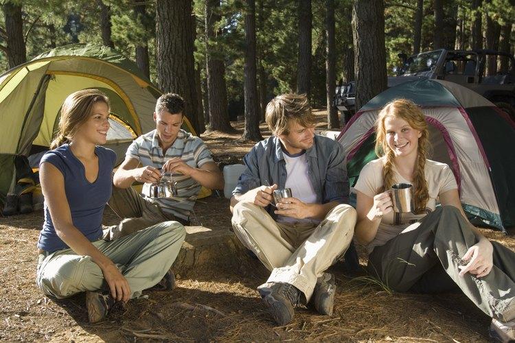 El verano es un buen momento para acampar en el norte de Wisconsin.