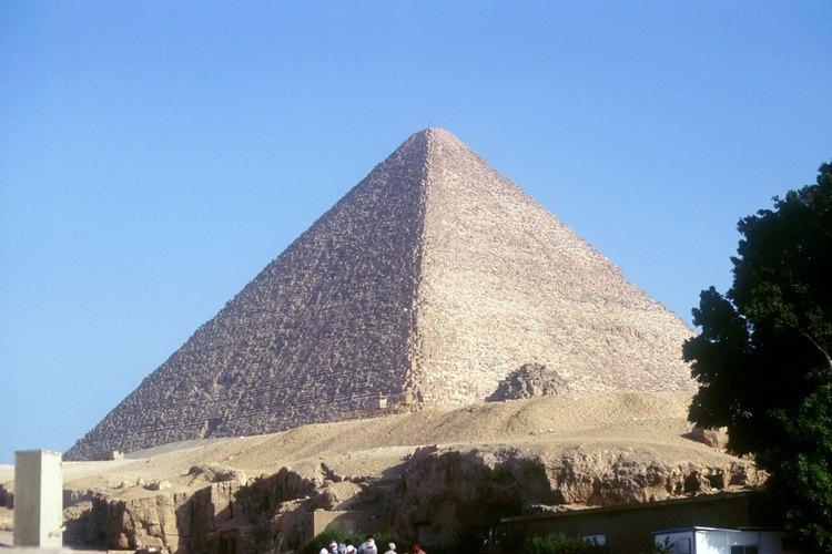La Gran Pirámide es la más grande jamás construida en Egipto.
