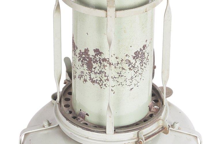 No es difícil cambiar un cilindro de gas propano.