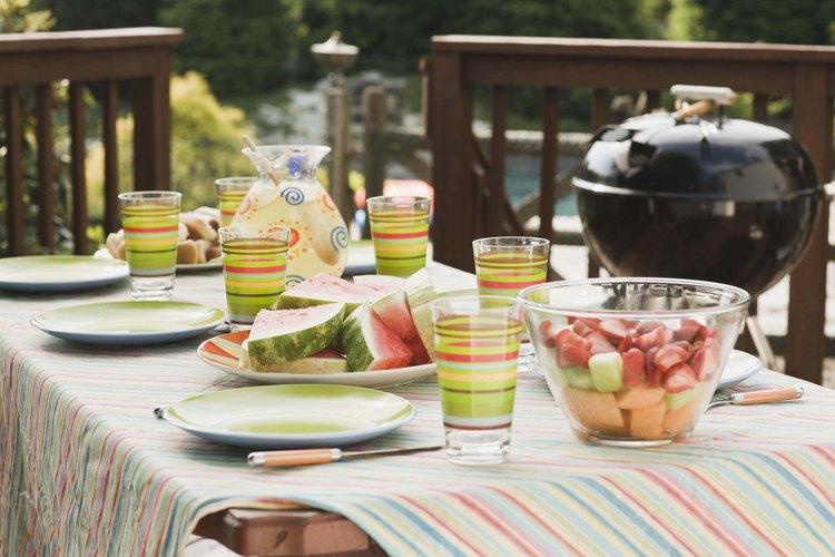 Ideas creativas para platillos de un barbecue dando un giro a un día de campo mediocre a uno con gran éxito.