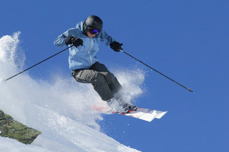 Los esquiadores prefieren la nieve en polvo.