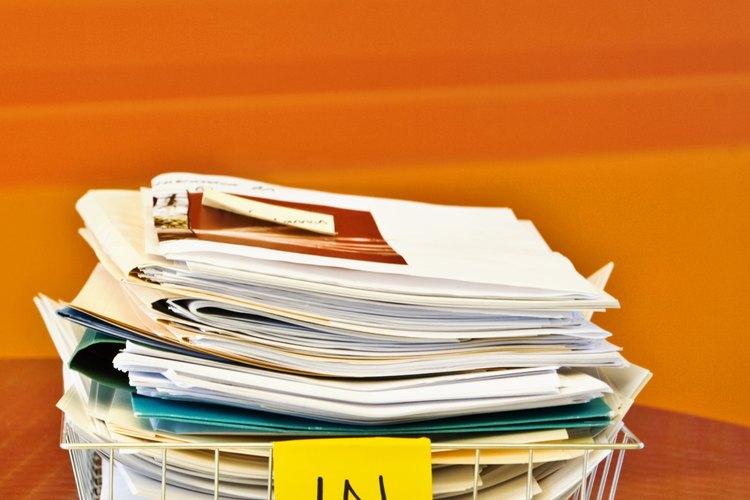 Documentos legales necesarios para abrir un negocio.