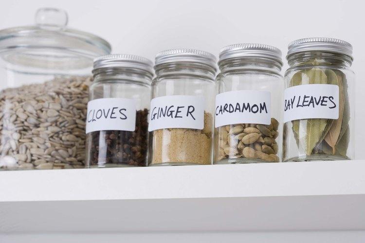 Las especias se pueden encontrar en la mayoría de las cocinas.