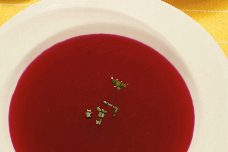 Descongela la sopa para preparar un plato sencillo.
