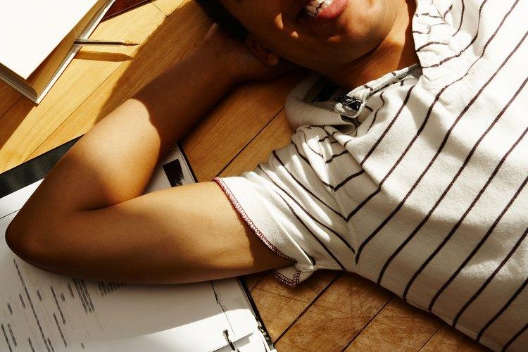 Toma un descanso estudiantil y relájate.